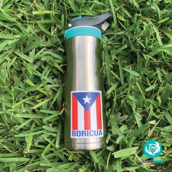 Boricua Puerto Rico Sticker